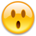 EMOTICON SURPRISED